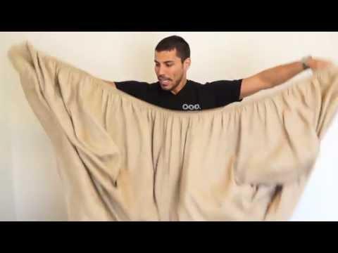 Comment plier un drap-housse en 30 secondes?